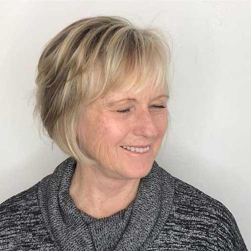 Short Thin Hair Cuts Over 50