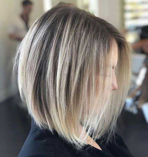 Short Straight Thin Hairstyles