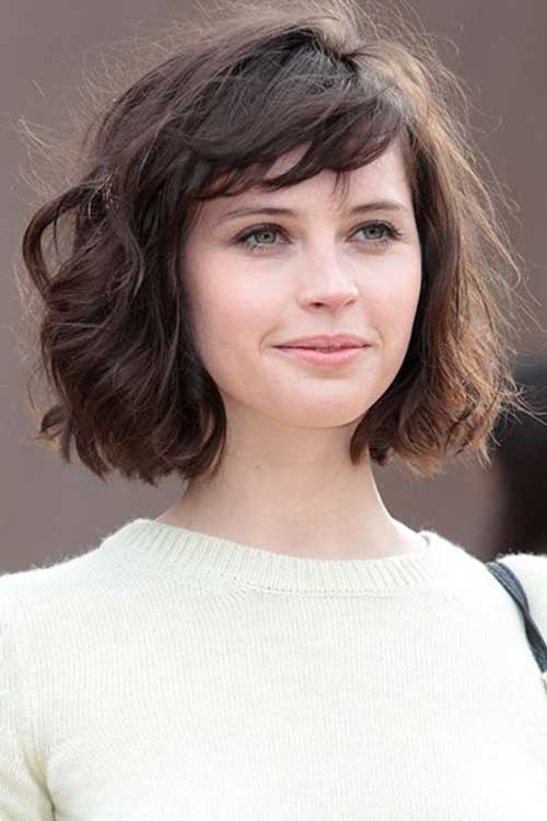 Latest Short Wavy Curly Hairstyles