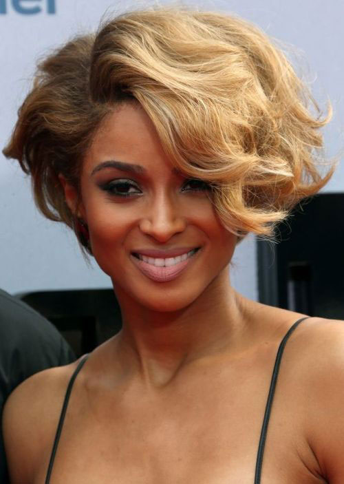 Short and Wavy Haircuts for Black Women