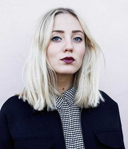 Blunt Long Bob Hairstyle Ideas