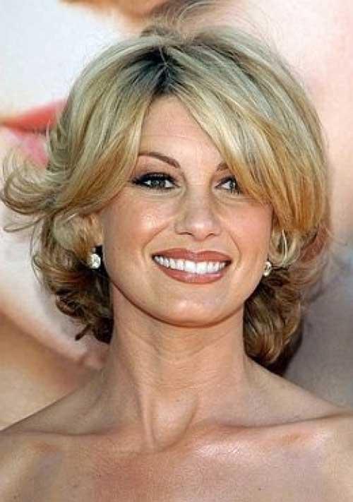 Stylish Short Hair Cuts Over 50
