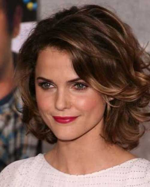 Stylish Short Wavy Curly Hairstyles