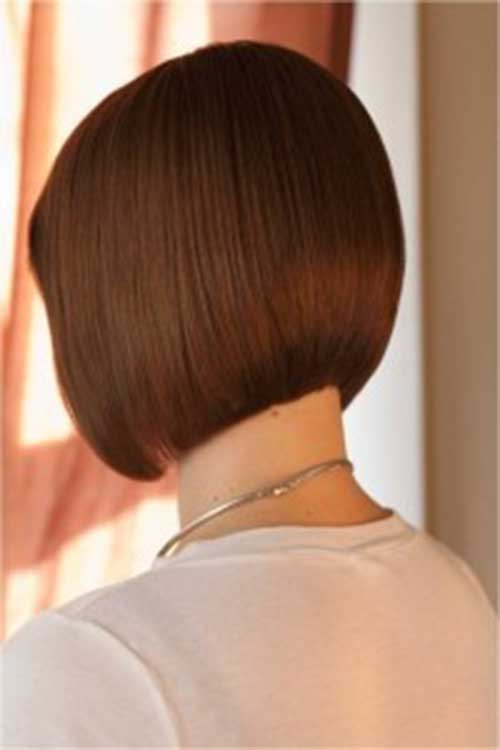 Back View of A Line Bob Haircuts