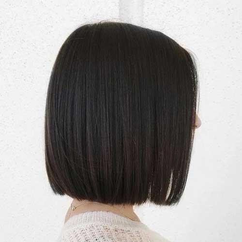 Back View of Bob Straight Haircuts