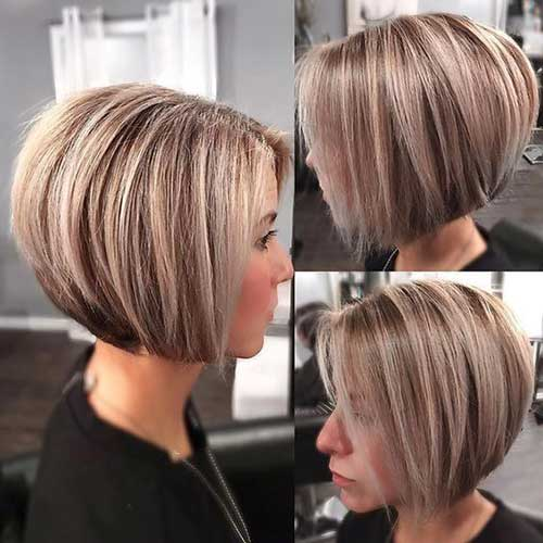 Back View of Classic Bob Haircuts