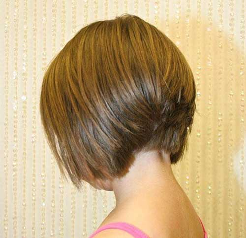 Back View of Shaggy Bob Haircuts