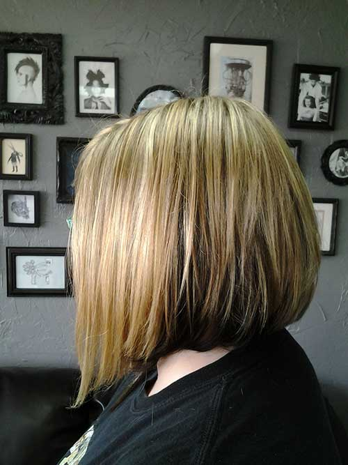 Back View of Bob Haircuts for Women