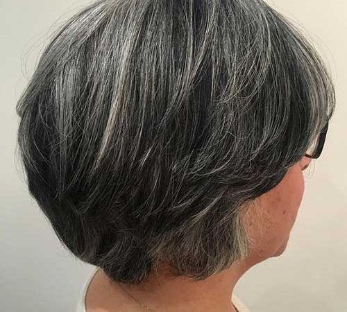 25 Popular Short Hairstyles for Ladies Over 50