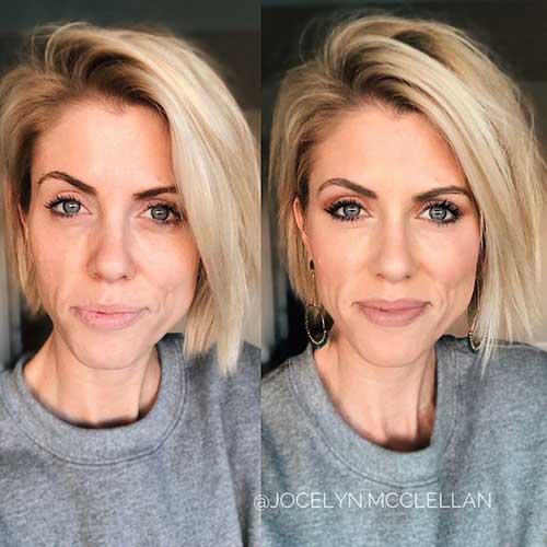 Blonde Short Fine Hairstyles
