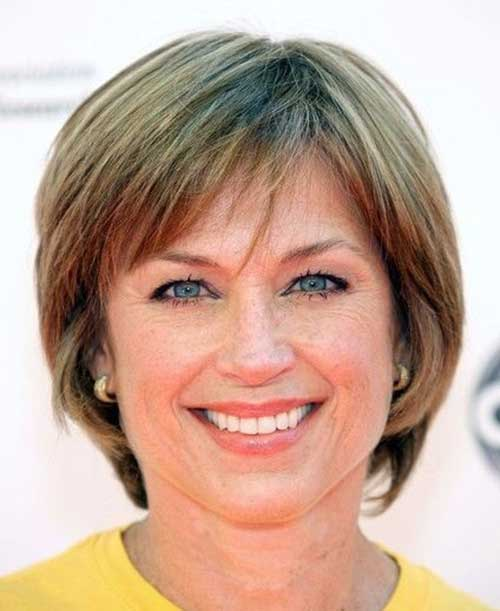 Celebrity Short Hairstyles for Over 50