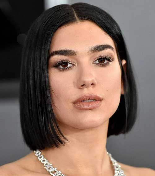 Celeb Short Hairstyles for Straight Hair