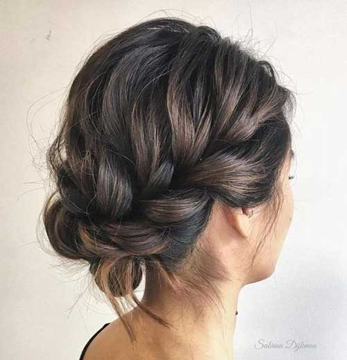 Easy Updos for Short Bob Hair