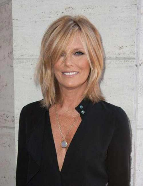 Celeb Short Hairstyles for Over 50