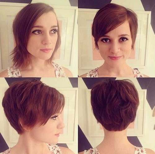 Short Bob Back View Pictures