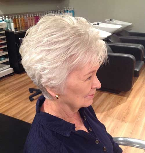 Short Fine Haircuts for Over 50