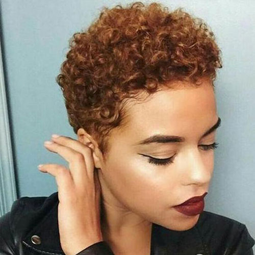 Latest Short Naturally Curly Hairstyles
