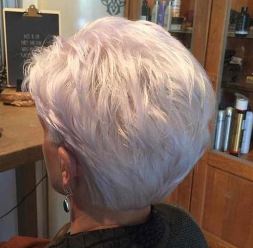 Short Thick Hairstyles for Over 50