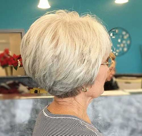 Short Thin Hairstyles for Over 50