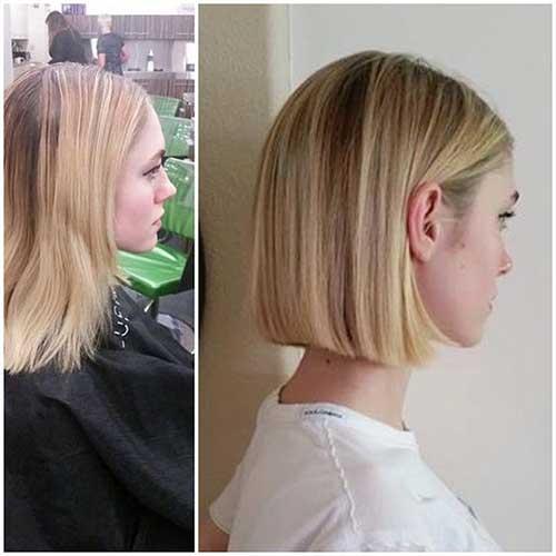 Short Fine Straight Hairstyles