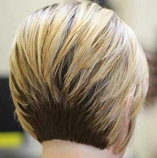 Stylish Back View of Bob Haircuts