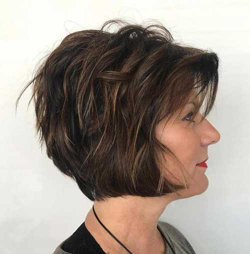 Hairstyles for Short Layered Hair-22