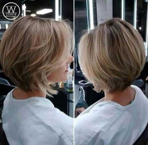 Hairstyles for Short Layered Hair-23
