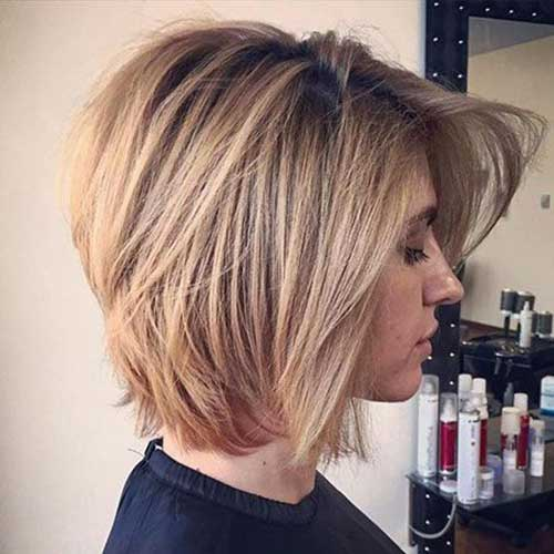 Hairstyles for Short Layered Hair-24