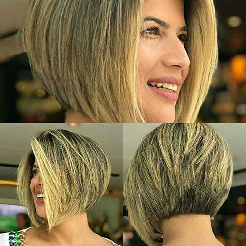 Hairstyles for Short Layered Hair-25