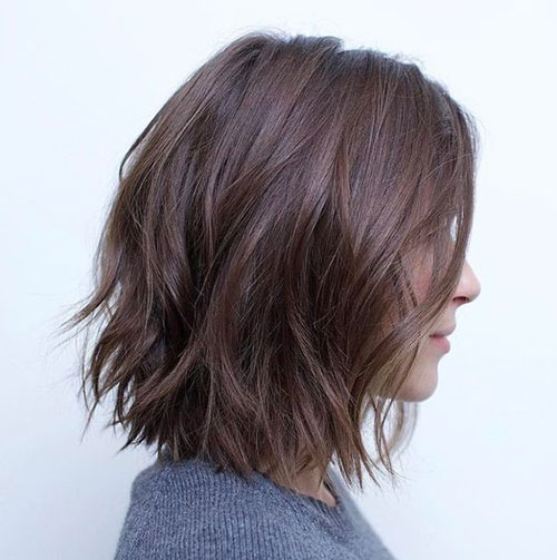 Layered Short Haircuts