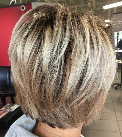 Bob Hairstyles for Short Layered Hair