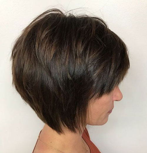 Hairstyles for Very Short Layered Hair