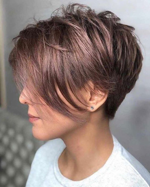 Short Straight Fine Hairstyles
