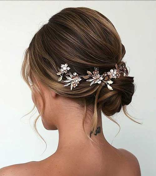 Short Bridal Hairdos