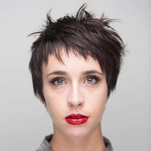 Choppy Short Pixie Hairstyles