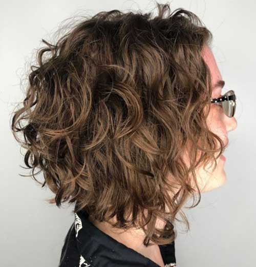 Curly Bob Hair Styles