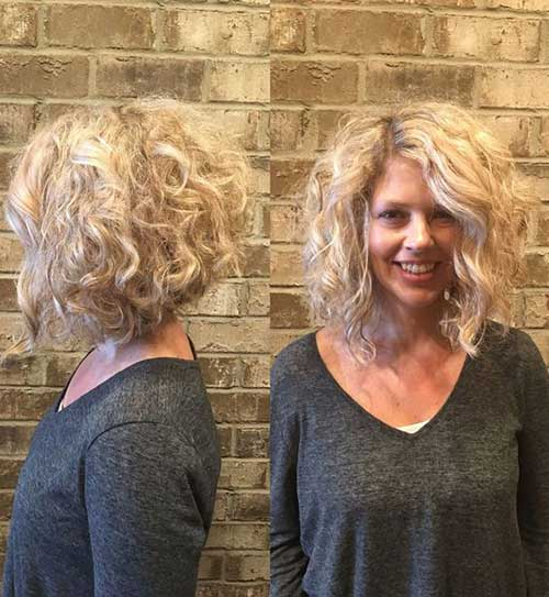Curly Short Hair Cuts