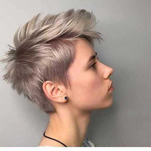 Edgy Short Pixie Hairstyles