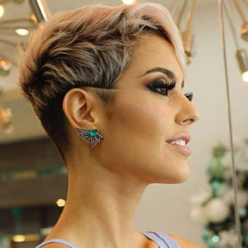 Short Wavy Pixie Hairstyles