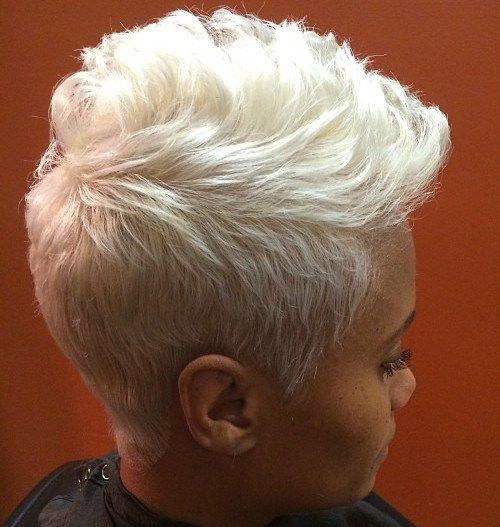 Short Black Natural Pixie Hairstyles