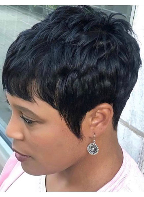 Short Curly Hairstyles Black Hair