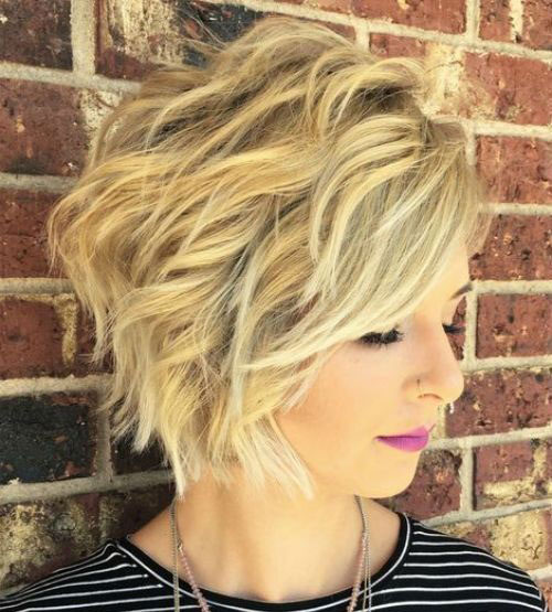 Wavy Short Layered Haircuts