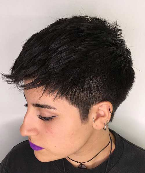 Stylish Short Pixie Hairstyles