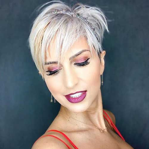 Textured Short Pixie Hairstyles