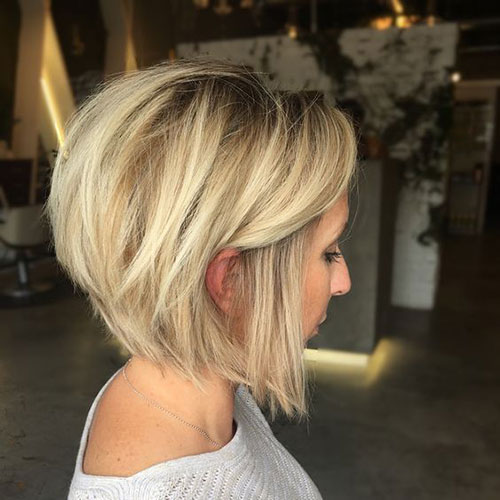 Trendy Layered Bob Haircuts
