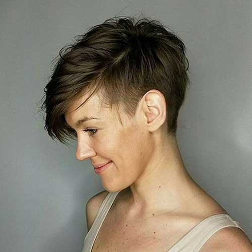 Short Long Pixie Hairstyles
