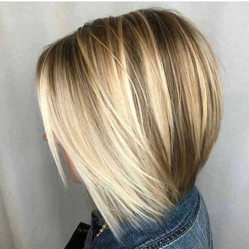 Blonde Balayage Bob Haircuts