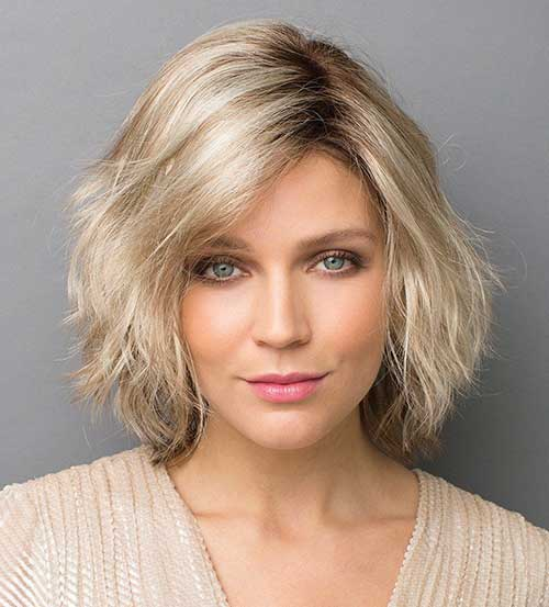Blonde Bob Haircuts for Over 40
