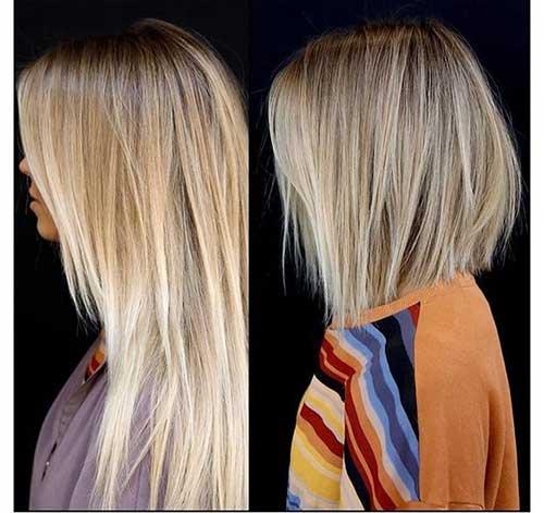 Blonde Layered Bob Haircuts