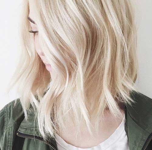 Long Blonde Bob Haircuts